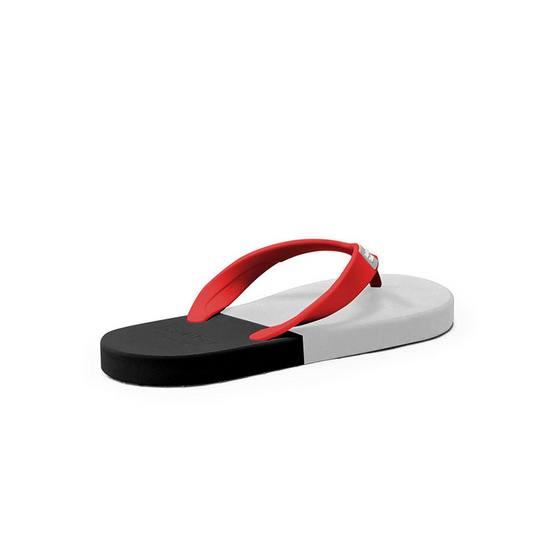 Rubber Soul รองเท้าแตะ รุ่น BALANCE สีเทา-เทาอ่อนดำ