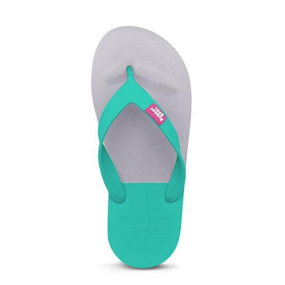 Rubber Soul รองเท้าแตะ รุ่น BALANCE สีเทาอมม่วง-ทะเล