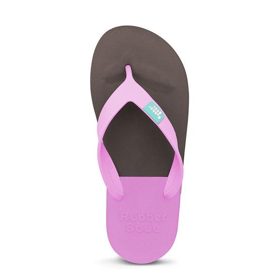 Rubber Soul รองเท้าแตะ รุ่น BALANCE สีน้ำตาล-ชมพู