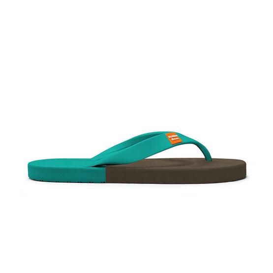 Rubber Soul รองเท้าแตะ รุ่น BALANCE สีน้ำตาล-ทะเล