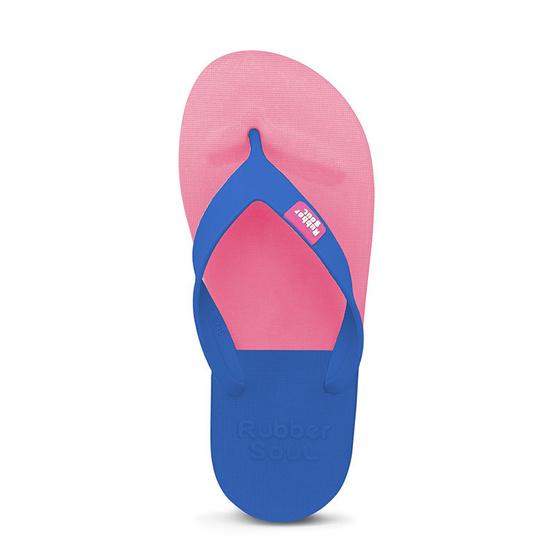 Rubber Soul รองเท้าแตะ รุ่น BALANCE สีเบบี้พิงค์-น้ำเงิน