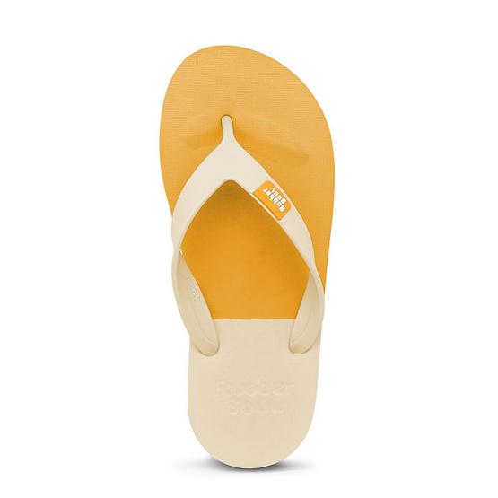 Rubber Soul รองเท้าแตะ รุ่น BALANCE สีมัสตาร์ด-เนื้ออ่อน
