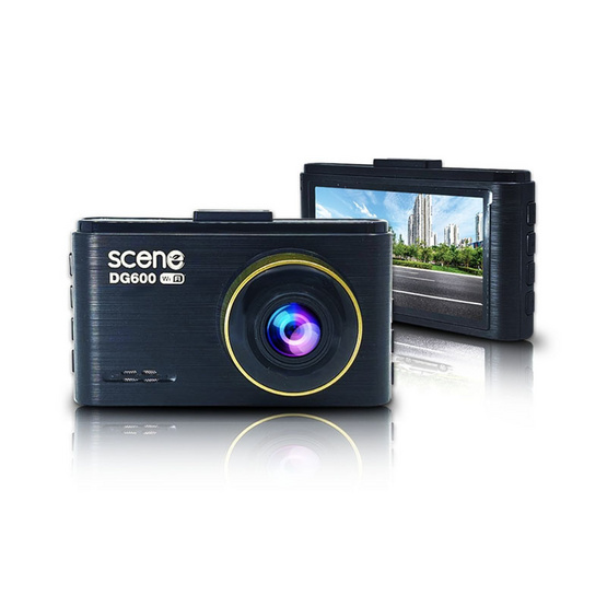 Scene กล้องติดรถยนต์ รุ่น DG600 ความชัดระดับ 2K
