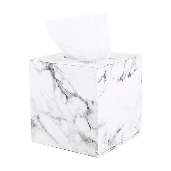 Abloom Orzer กล่องทิชชู่ ลายหินอ่อน ของแต่งบ้าน Tissue Box Luxury Marble Collection (สำหรับทิชชู่ม้วน)