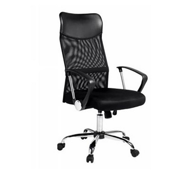 TS Modern Living เก้าอี้สำนักงาน ตาข่าย ทรงสูง ปรับระดับ มีล้อลาก รุ่น CH0003BK
