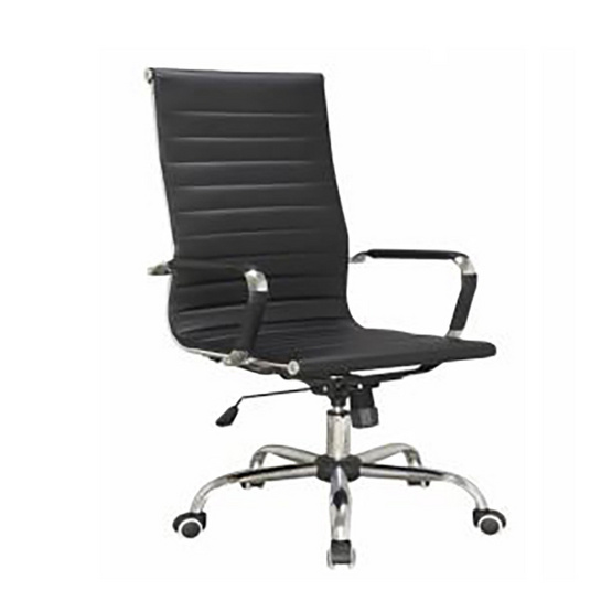TS Modern Living เก้าอี้สำนักงาน  ทรงสูง ปรับระดับ มีล้อลาก รุ่น CH0004BK