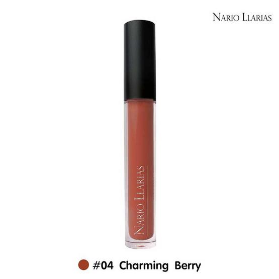 Nario Llarias Miss Kissy Fruity Matte Lip No.4 Charming Berry 4 ml