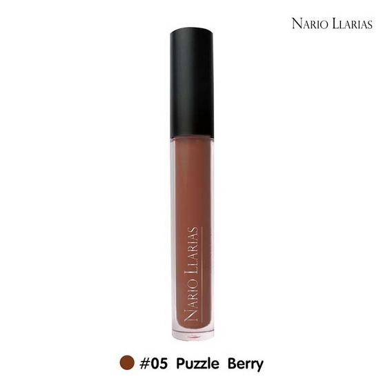 Nario Llarias Miss Kissy Fruity Matte Lip No.5 Puzzle Berry 4 ml