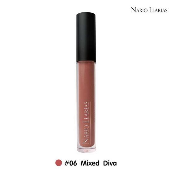 Nario Llarias Miss Kissy Fruity Matte Lip No.6 Mixed Diva 4 ml