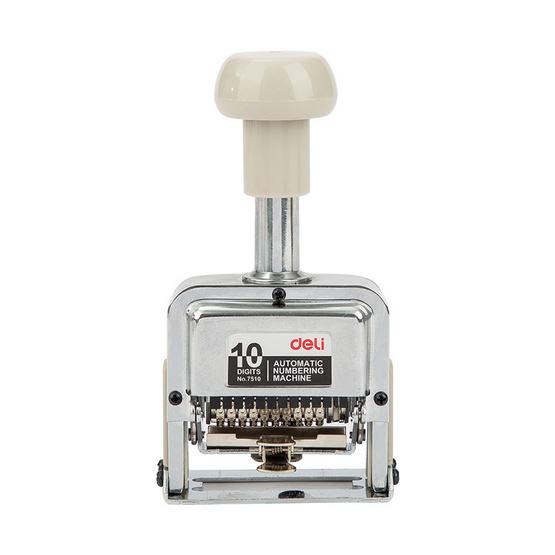 Deli 7510 Numbering Machine เครื่องตีเบอร์ 10 หลัก