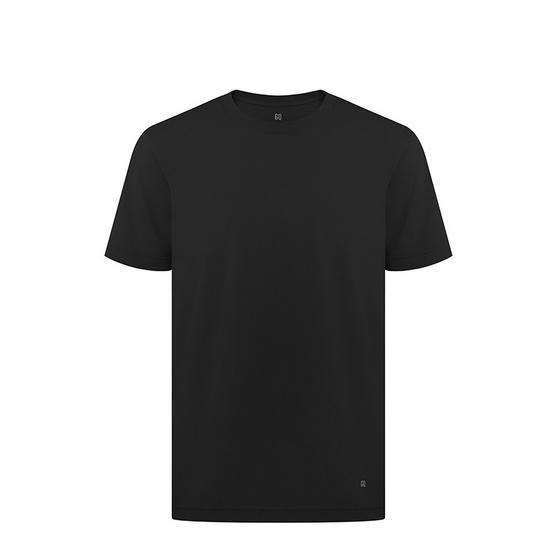 W GQเสื้อยืดสีดำ SIZE M