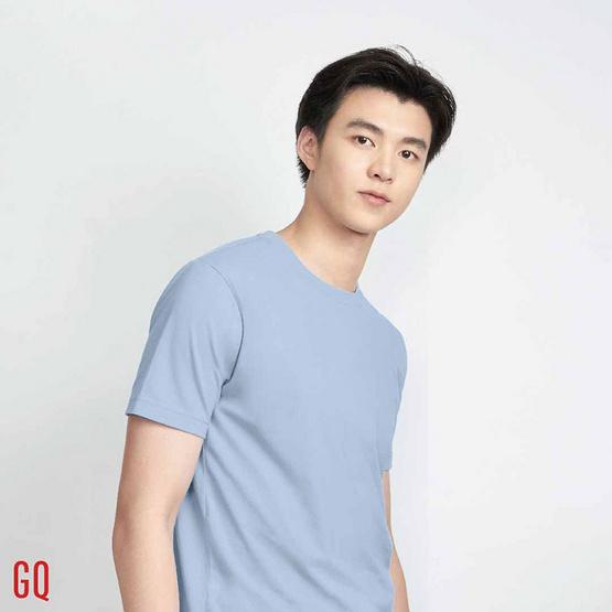 GQ เสื้อยืดสีฟ้า