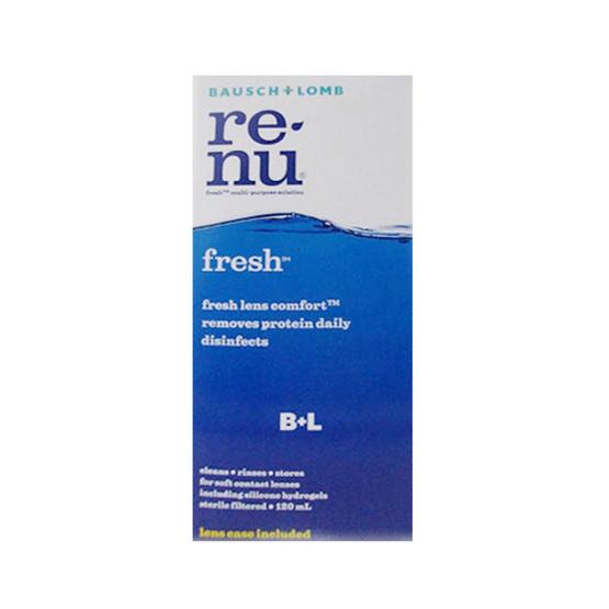 Renu Fresh น้ำยาล้างคอนแทคเลนส์ ขนาด 120 มล.