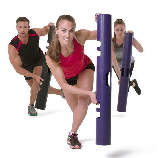 ViPR ไวเปอร์ อุปกรณ์ออกกำลังกายทรงกระบอก กระบอกน้ำหนัก Fitness Tube Viper 6 KG