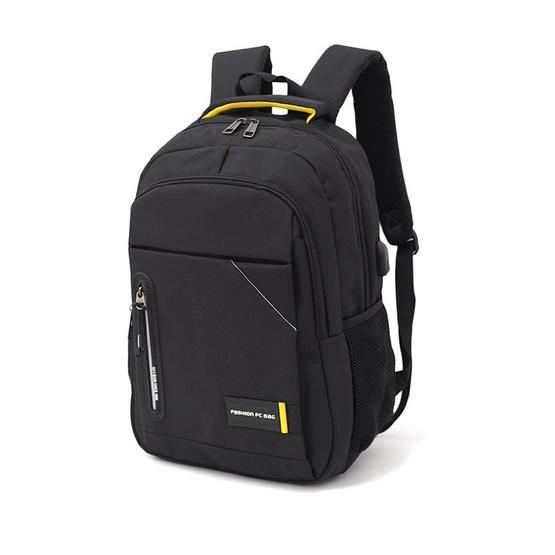 HQ LUGGAGE กระเป๋าเป้ โน้ตบุ๊ค Sky-bow รุ่น P111433 (สีดำ)