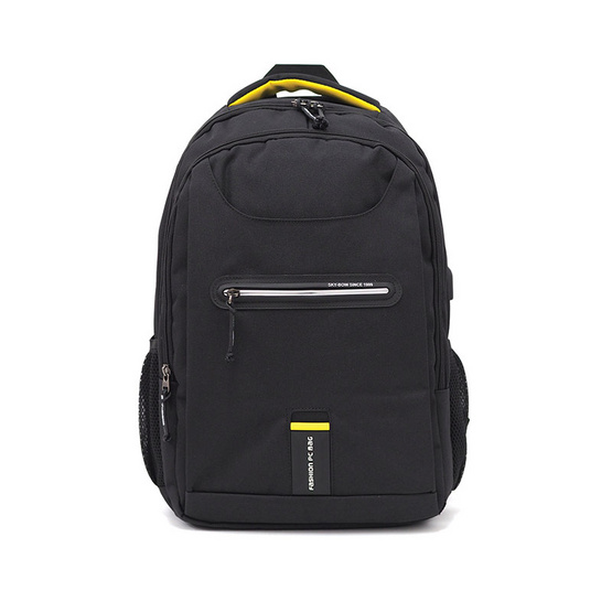 HQ LUGGAGE กระเป๋าเป้ โน้ตบุ๊ค Sky-bow รุ่น P103055 (สีดำ)
