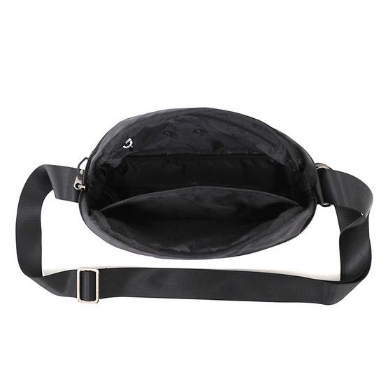 FOUVOR กระเป๋าสะพาย Unisex ผ้ากันน้ำ รุ่น 2918-08 (สีดำ)