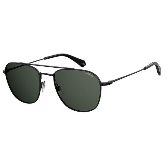 POLAROID แว่นตากันแดด เลนส์สีเทา-เขียว ขาแว่นสีดำ รุ่นPLD2084-807M9 (ฟรีแก้วน้ำ แบรนด์ POLAROID)