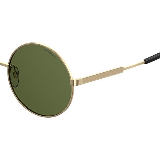POLAROID แว่นตากันแดด เลนส์สีเขียว ขาแว่นสีทอง รุ่นPLD4052-J5GUC (ฟรีแก้วน้ำ แบรนด์ POLAROID)