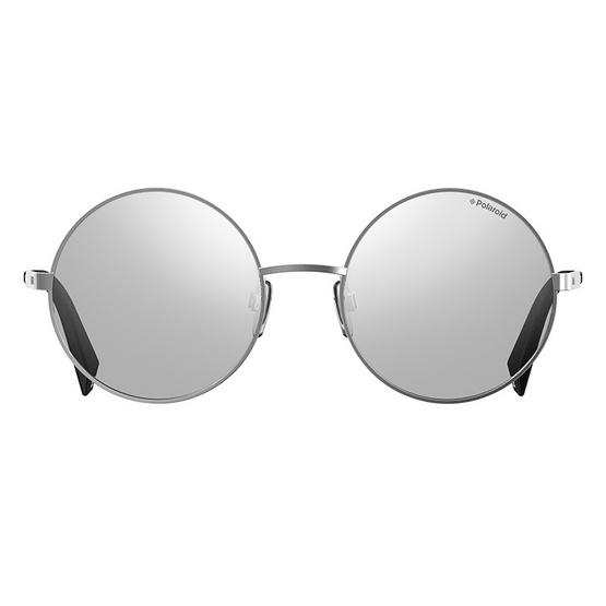 POLAROID แว่นตากันแดด เลนส์สีเงิน ขาแว่นสีเงิน รุ่นPLD4052-010EX (ฟรีแก้วน้ำ แบรนด์ POLAROID)
