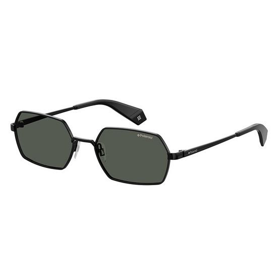 POLAROID แว่นตากันแดด เลนส์สีดำ ขาแว่นสีดำ รุ่นPLD6068-807M9 (ฟรีแก้วน้ำ แบรนด์ POLAROID)