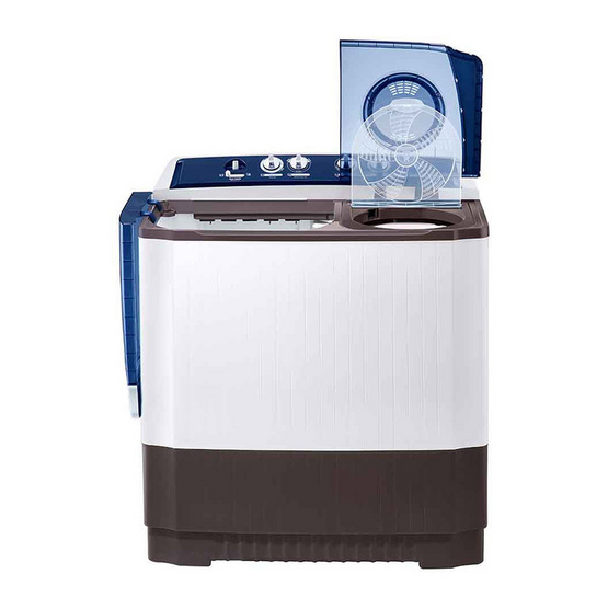 LG เครื่องซักผ้า 2 ถัง 14 กิโลกรัม รุ่น TT14WAPG