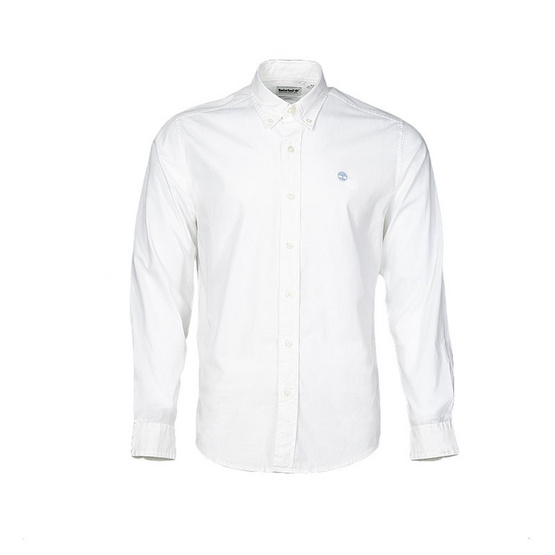 Timberland Long-Sleeve Shirt White