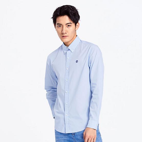 Timberland Long-Sleeve Shirt Blue