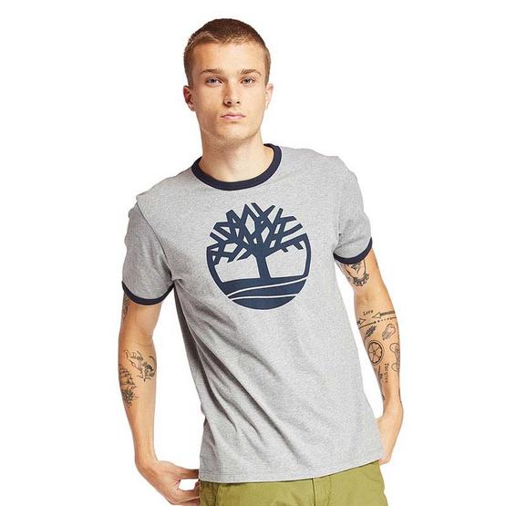 Timberland T-shirt Tree Graphic Gray