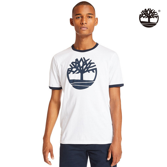 Timberland T-shirt Tree Graphic White