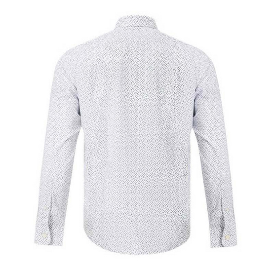 Timberland Long-Sleeve Shirt White Floral Printed