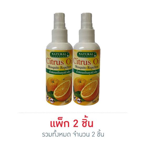 Natural Esences น้ำหอมกันยุงผิวส้ม 110 มล.