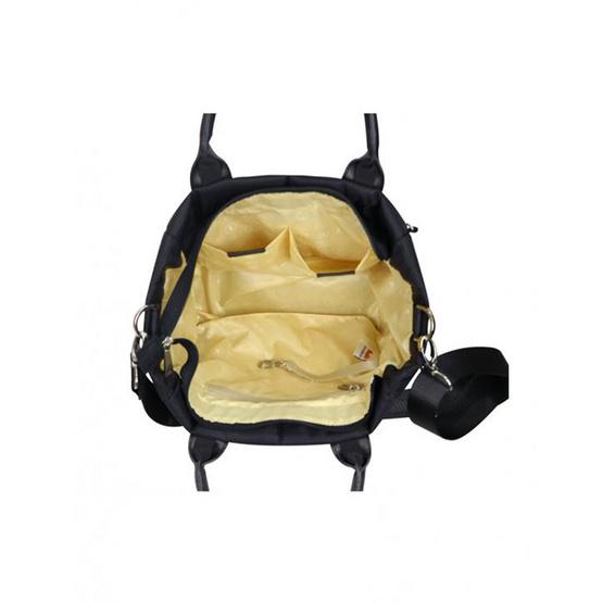 Huskies กระเป๋าสะพายแฟชั่น รุ่น HK02-786 BL สีดำ