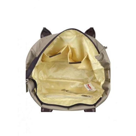 Huskies กระเป๋าสะพายแฟชั่น รุ่น HK02-786 KK สีกากี