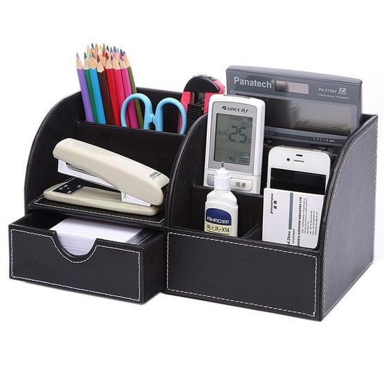 Abloom กล่องเครื่องเขียน อุปกรณ์จัดเก็บบนโต๊ะ