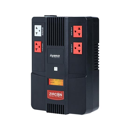 ZIRCON UPS Hybrid LCD 1000VA/550W