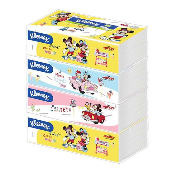 คลีเน็กซ์ กระดาษ ดิสนีย์ ซอฟท์บ๊อกซ์ 115 แผ่น แพ็ก 4 ห่อ