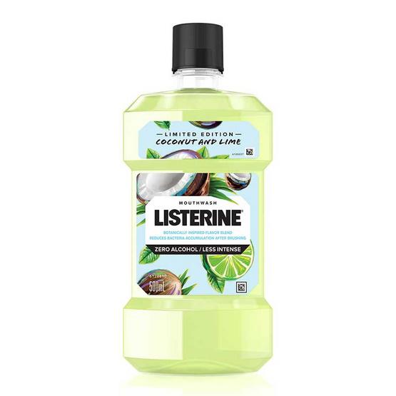 ลิสเตอรีน น้ำยาบ้วนปาก โคโคนัทแอนด์ไลนม์ 500 มล.