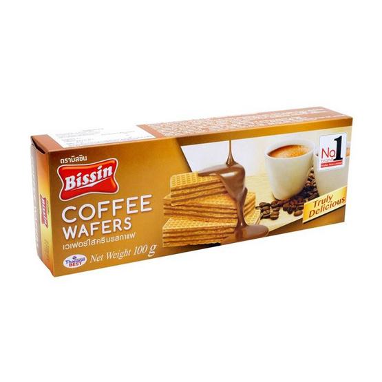 บิสชิน เวเฟอร์รสกาแฟ 100 กรัม