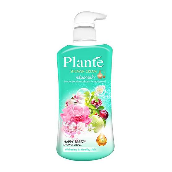 Plante แพลนเต้ ครีมอาบน้ำ กลิ่น แฮปปี้ บรีซซี่ 500 มล.