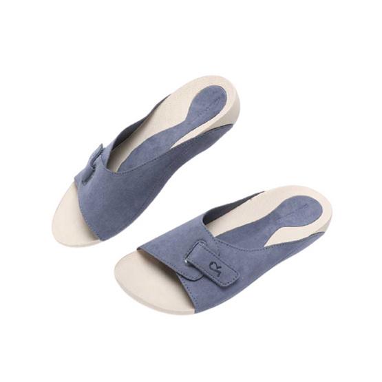 Rebecca Lim's by Talon รุ่น HONGKONG รองเท้าสุขภาพ / Blue