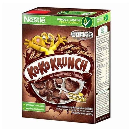 อาหารเช้า โกโก้ครั้นช์ ซีเรียล 330 กรัม