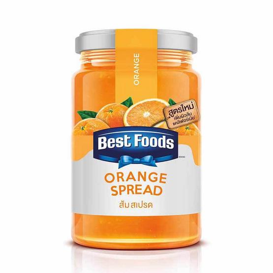 เบสท์ฟู้ดส์ แยมรสส้ม 360 กรัม
