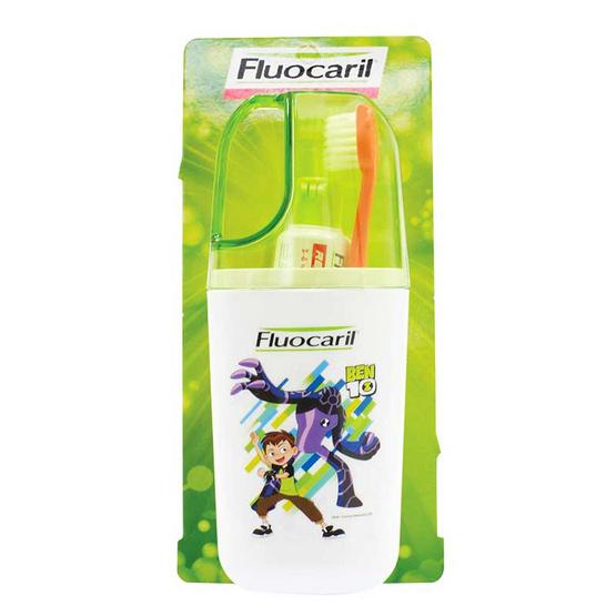 ฟลูโอคารีลคิดส์ ชุดแปรงสีฟัน สำหรับอายุ 2-6 ปี