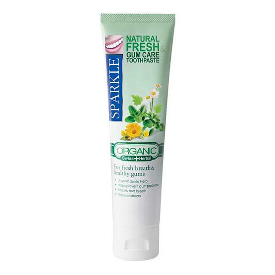 Sparkle ยาสีฟัน เนเชอรัลเฟรชแอนด์กัมแคร์ 100 กรัม