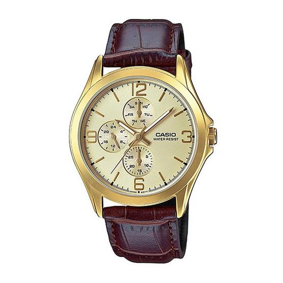 Casio นาฬิกาข้อมือ รุ่น MTP-V301GL-9A