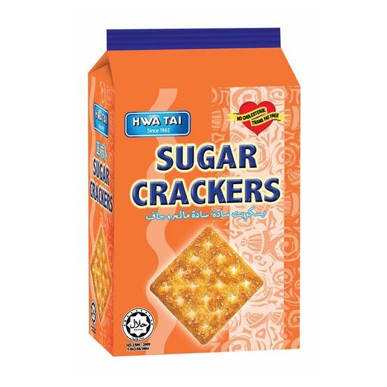 ฮั่วไถ่ แครกเกอร์เคลือบน้ำตาล 180 กรัม