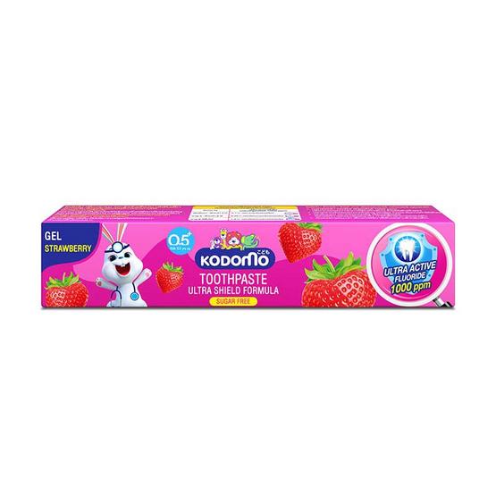 โคโดโม ยาสีฟันเด็กสตรอเบอร์รี่ เจล 40 กรัม