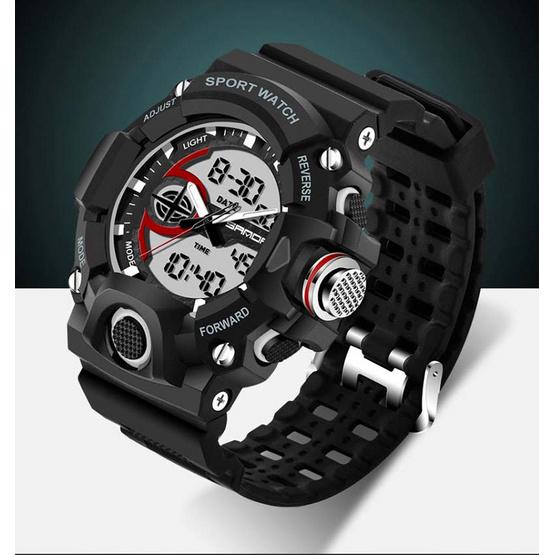 นาฬิกาข้อมือ รุ่น SW715-BK