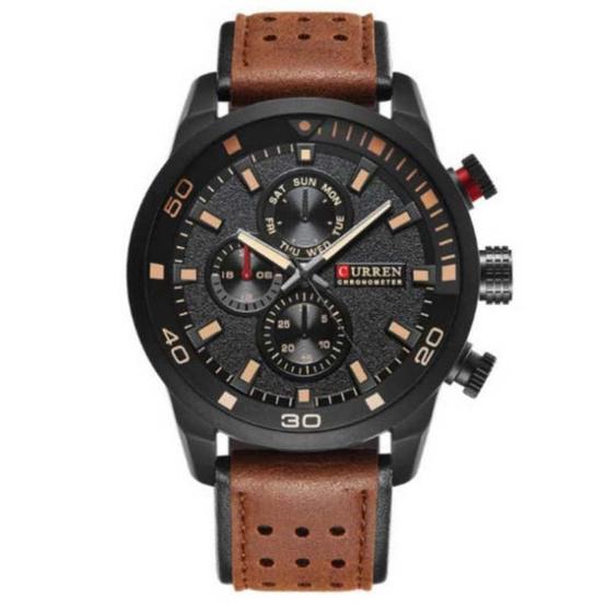 Curren นาฬิกาข้อมือ รุ่น C8250-BR/BK